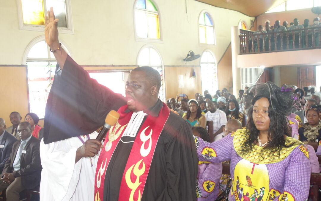 Rev. Nta William Nche inducted as PCC Peace Coordinator and Parish Pastor Bokwoango