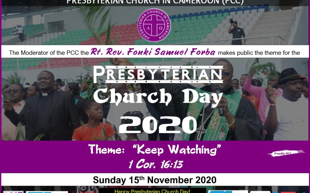 2020 Presbyterian Church Day theme