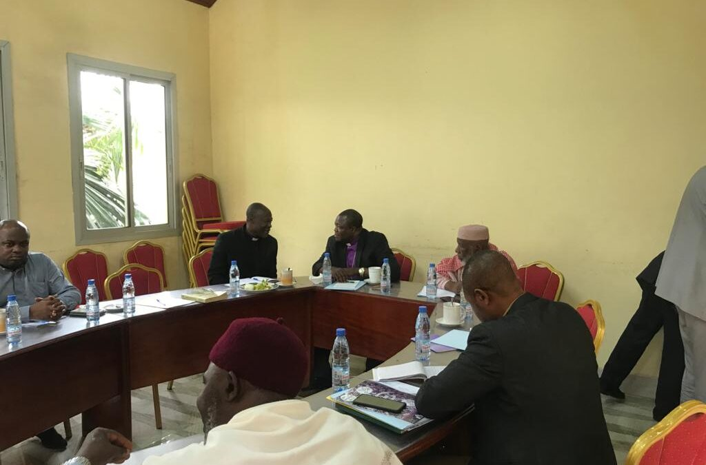 The international Ecumenical Forum Partners pledge to accompany the Cameroonian Religious leaders in their home initiated solutions for sustainable peace.