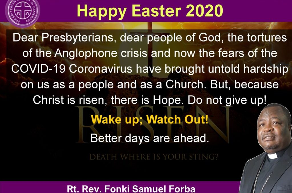 Easter 2020 wishes from the Moderator, PCC