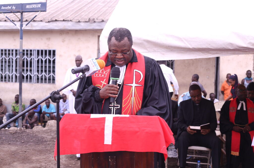 The PCC Moderator addresses the General Assembly of the Presbyterian Church of Ghana